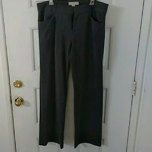 Michael Kors Gray Dress Pants Size 12 Long